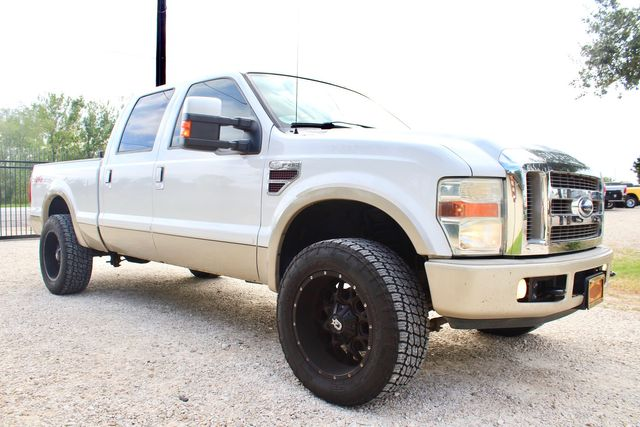 2008 Ford Super Duty F-250 King Ranch Crew Cab 4X4 6.4L Powerstroke Diesel Auto