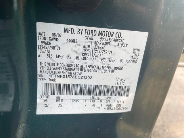2008 Ford Super Duty F-250 Pickup XL Hoosick Falls, New York 6