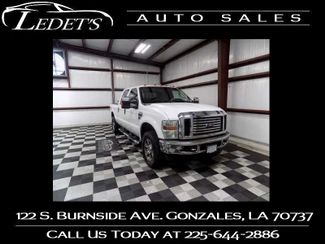 2008 Ford Super Duty F-250 SRW Lariat - Ledet's Auto Sales Gonzales_state_zip in Gonzales