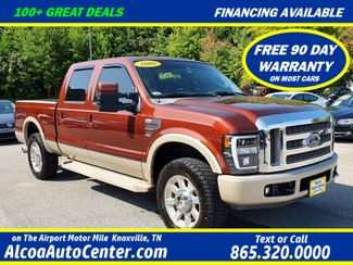 "2008 Ford Super Duty F-250 SRW King Ranch 6.4L V8 TDSL 4X4 Leather/Sunroof/20"" in Louisville, TN 37777"