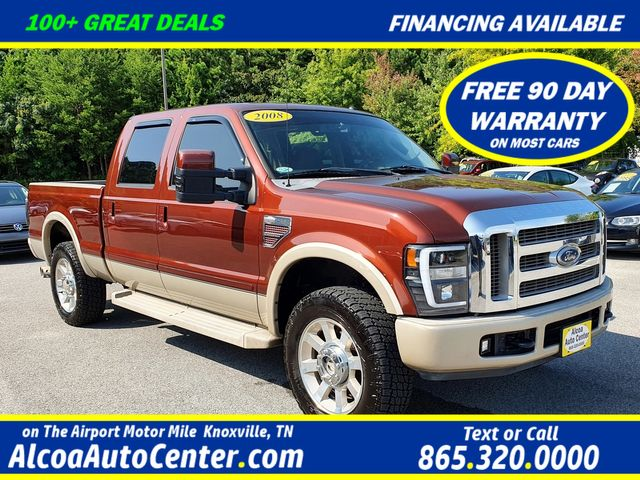 2008 Ford Super Duty F-250 SRW King Ranch 6.4L V8 TDSL 4X4 Leather/Sunroof/20""