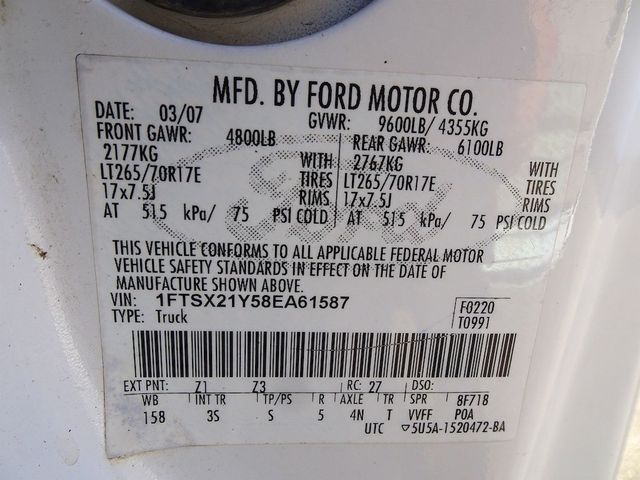 2008 Ford Super Duty F-250 SRW XLT Madison, NC 44