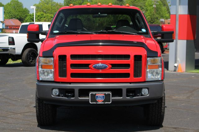 2008 Ford Super Duty F-250 SRW FX4 Crew Cab 4x4 -SUNROOF - HEATED LEATHER! Mooresville , NC 15