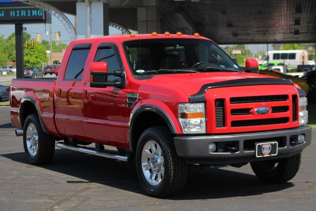 2008 Ford Super Duty F-250 SRW FX4 Crew Cab 4x4 -SUNROOF - HEATED LEATHER! Mooresville , NC 22