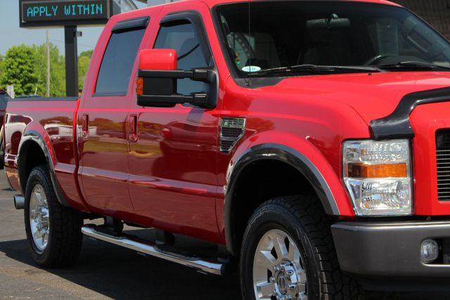 2008 Ford Super Duty F-250 SRW FX4 Crew Cab 4x4 -SUNROOF - HEATED LEATHER! Mooresville , NC 26