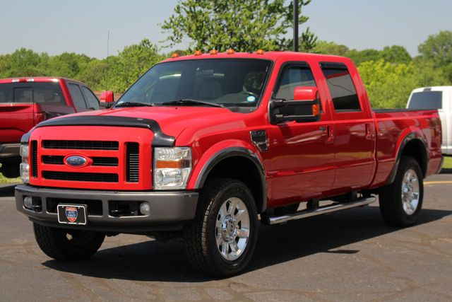 2008 Ford Super Duty F-250 SRW FX4 Crew Cab 4x4 -SUNROOF - HEATED LEATHER! Mooresville , NC 23