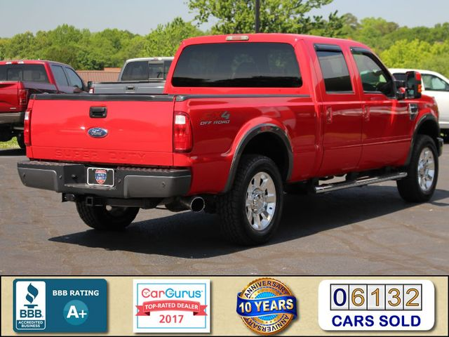 2008 Ford Super Duty F-250 SRW FX4 Crew Cab 4x4 -SUNROOF - HEATED LEATHER! Mooresville , NC 2