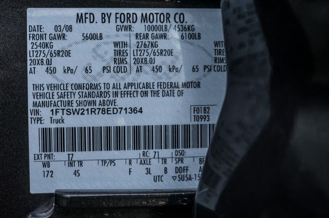 2008 Ford Super Duty F-250 SRW Lariat in Reseda, CA, CA 91335
