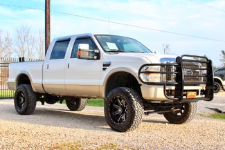 2008 Ford Super Duty F-250 King Ranch 4x4 6.4l Powerstroke Diesel Auto LIFTED Sealy, Texas 1