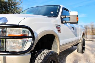 2008 Ford Super Duty F-250 King Ranch 4x4 6.4l Powerstroke Diesel Auto LIFTED Sealy, Texas 4