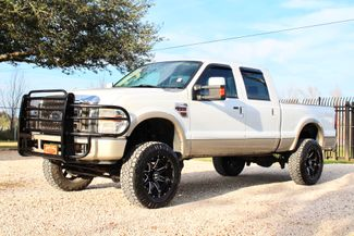 2008 Ford Super Duty F-250 King Ranch 4x4 6.4l Powerstroke Diesel Auto LIFTED Sealy, Texas 5