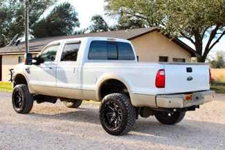 2008 Ford Super Duty F-250 King Ranch 4x4 6.4l Powerstroke Diesel Auto LIFTED Sealy, Texas 7