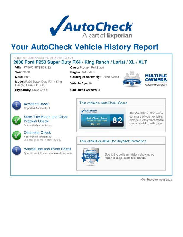 2008 Ford Super Duty F-250 SRW Lariat  city Illinois  Ardmore Auto Sales  in West Chicago, Illinois
