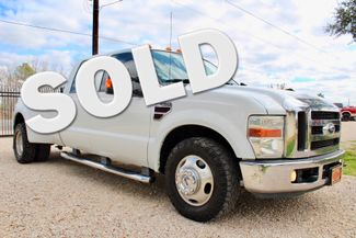 2008 Ford Super Duty F-350 DRW Lariat Crew Cab 2wd 6.4L Powerstroke Diesel Auto Sealy, Texas