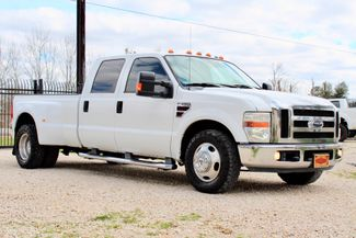2008 Ford Super Duty F-350 DRW Lariat Crew Cab 2wd 6.4L Powerstroke Diesel Auto Sealy, Texas 1