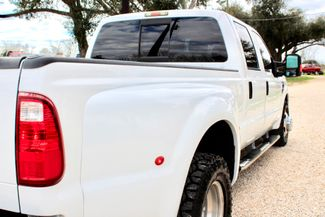 2008 Ford Super Duty F-350 DRW Lariat Crew Cab 2wd 6.4L Powerstroke Diesel Auto Sealy, Texas 10