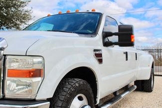 2008 Ford Super Duty F-350 DRW Lariat Crew Cab 2wd 6.4L Powerstroke Diesel Auto Sealy, Texas 4