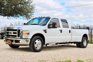 2008 Ford Super Duty F-350 DRW Lariat Crew Cab 2wd 6.4L Powerstroke Diesel Auto Sealy, Texas 5