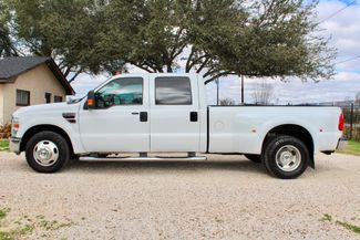 2008 Ford Super Duty F-350 DRW Lariat Crew Cab 2wd 6.4L Powerstroke Diesel Auto Sealy, Texas 6