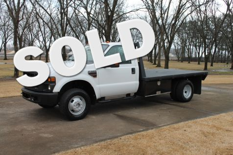 2008 Ford F350 XL 4WD Diesel Flat Bed  in Marion, Arkansas