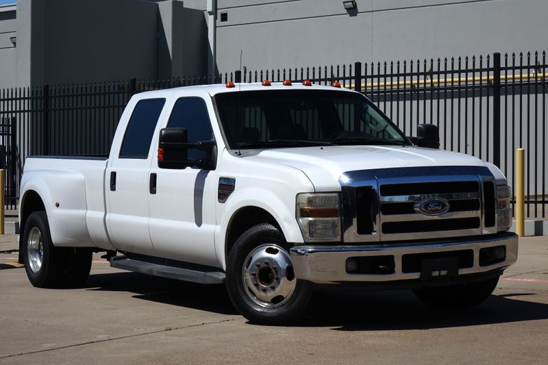 2008 Ford Super Duty F-350 DRW Lariat* Nav* Leather* Diesel* EZ Finance** | Plano, TX | Carrick's Autos in Plano TX