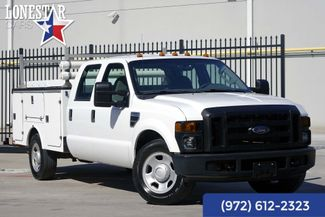 2008 Ford Super Duty F-350 SRW XL Utility Bed Crew Cab Clean Carfax in Plano Texas, 75093