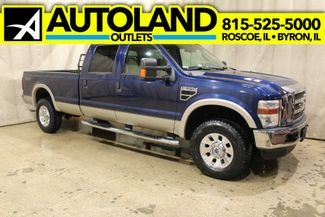 2008 Ford Super Duty F-350 V-10 4x4 Long Bed Lariat in Roscoe, IL 61073
