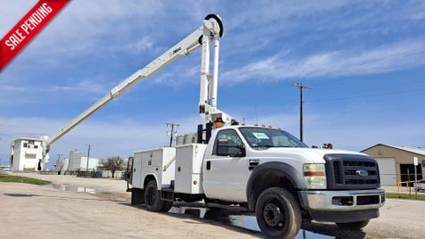 2008 Ford SD F-550 LOW MILES 42' ALTEC ARTICULATING & TELESCOPIC BUCKET TRUCK in Fort Worth, TX