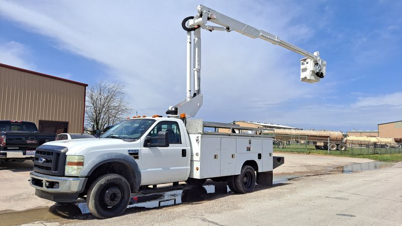 2008 Ford SD F-550 LOW MILES 42 ALTEC ARTICULATING  TELESCOPIC BUCKET TRUCK  city TX  North Texas Equipment  in Fort Worth, TX