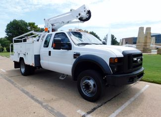 2008 Ford Super Duty F-550, Extended Cab, Bucket Boom Truck, XL Irving, Texas 2
