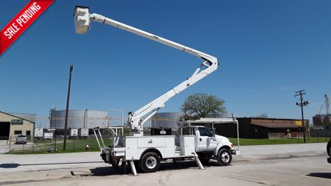 2008 Ford FORD F750 CUMMINS DIESEL 60FT BUCKET TRUCK XL F75O BUCKET TRUCK 60FT ALTEC in Fort Worth, TX