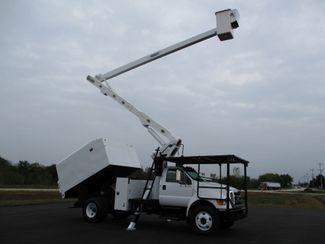 2008 Ford  F750 CHIPPER DUMP BUCKET BOOM TRUCK 50K MI NO CDL Lake In The Hills, IL 40