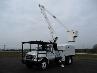 2008 Ford  F750 CHIPPER DUMP BUCKET BOOM TRUCK 50K MI NO CDL Lake In The Hills, IL 1