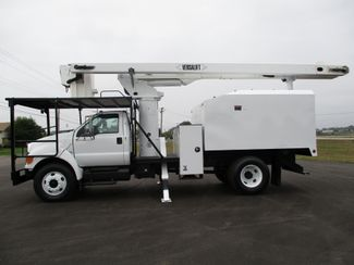 2008 Ford  F750 CHIPPER DUMP BUCKET BOOM TRUCK 50K MI NO CDL Lake In The Hills, IL 2