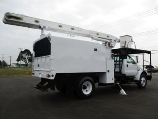 2008 Ford  F750 CHIPPER DUMP BUCKET BOOM TRUCK 50K MI NO CDL Lake In The Hills, IL 5