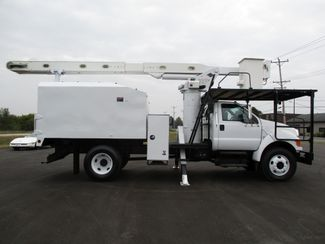 2008 Ford  F750 CHIPPER DUMP BUCKET BOOM TRUCK 50K MI NO CDL Lake In The Hills, IL 6