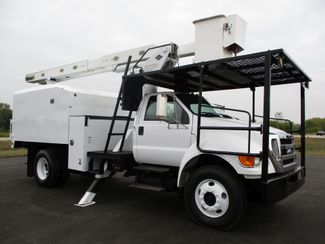 2008 Ford  F750 CHIPPER DUMP BUCKET BOOM TRUCK 50K MI NO CDL Lake In The Hills, IL 7