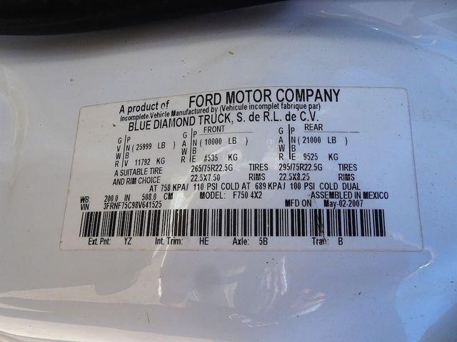2008 Ford Super Duty F-750 Straight Frame XLT Madison, NC 39