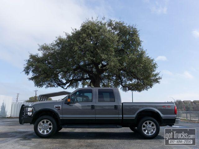 2008 Ford Super Duty F250 Crew Cab Lariat 6.4L Power Stroke Diesel 4X4
