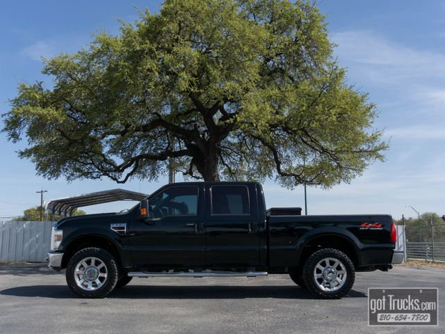 2008 Ford Super Duty F250 Crew Cab Lariat 6.4L Power Stroke Diesel 4X4