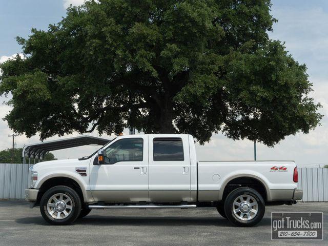 2008 Ford Super Duty F250 Crew Cab King Ranch 6.4L Power Stroke Diesel 4X4