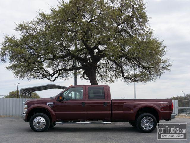 2008 Ford Super Duty F450 Crew Cab XLT 6.4L Power Stroke Diesel 4X4