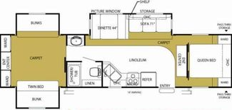 2008 Forest River Sandpiper 321 BHT in Katy, TX 77494