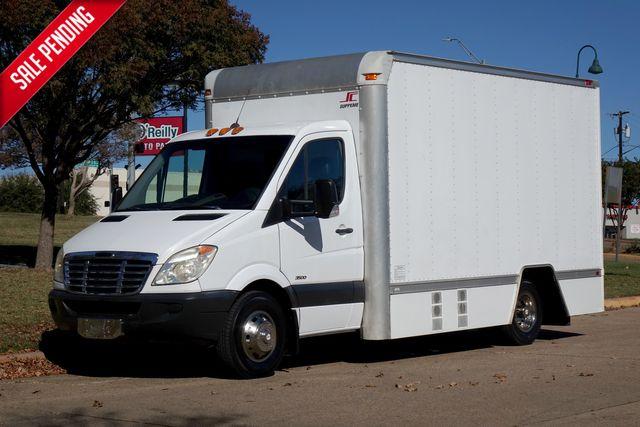 2008 Freightliner 3500 Cutaway Van Dual Rear Wheel with 14 FT Supreme Box Tool Truck
