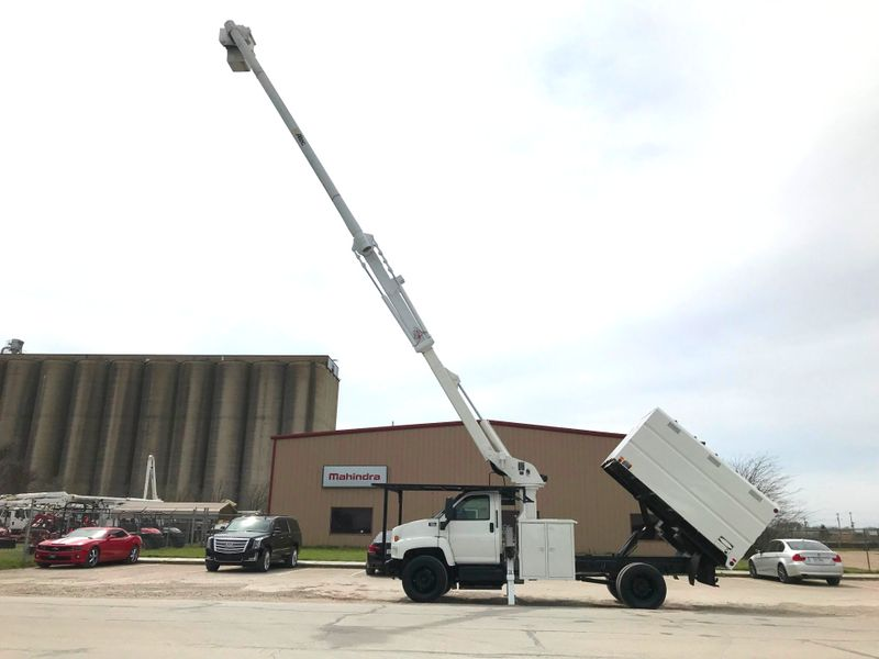 2008 GMC 7500 FORESTRY BUCKET TRUCK   city TX  North Texas Equipment  in Fort Worth, TX