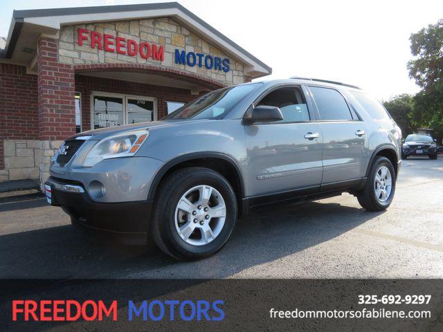 2008 GMC Acadia SLE1 | Abilene, Texas | Freedom Motors  in Abilene,Tx Texas