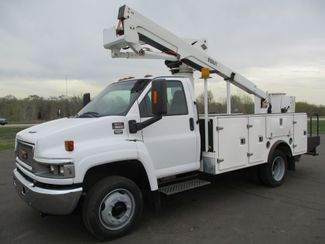 2008 GMC C5500 AUTO 88K BUCKET BOOM TRUCK Lake In The Hills, IL