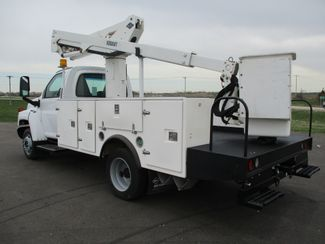 2008 GMC C5500 AUTO 88K BUCKET BOOM TRUCK Lake In The Hills, IL 2