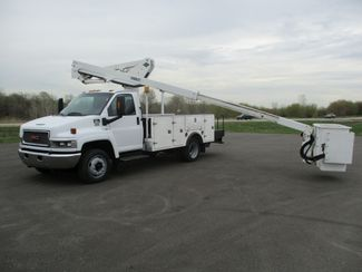 2008 GMC C5500 AUTO 88K BUCKET BOOM TRUCK Lake In The Hills, IL 35
