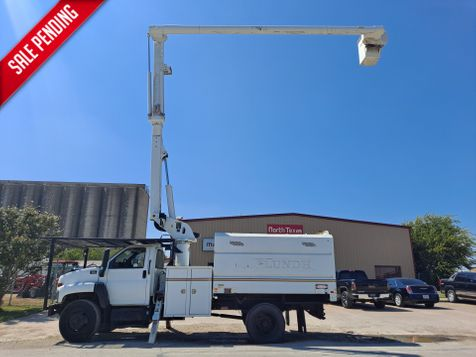 2008 GMC C7500 60' ALTEC FORESTRY  BUCKET TRUCK in Fort Worth, TX